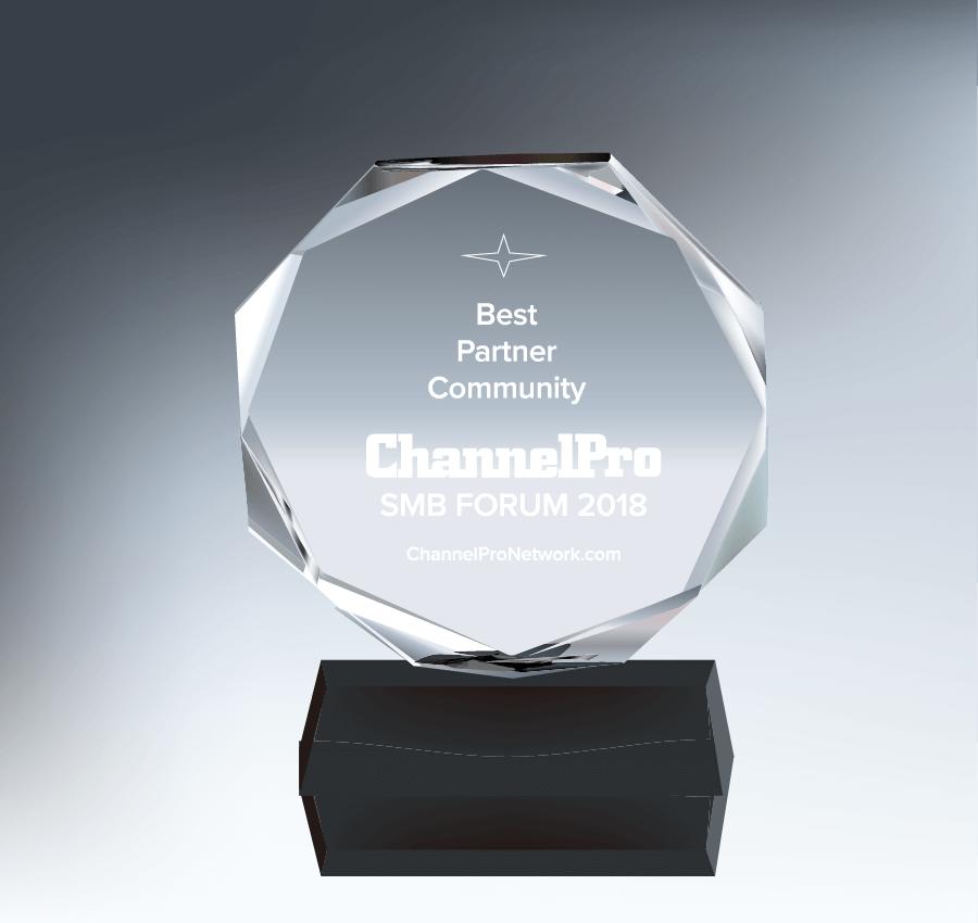 Prix ChannelPro SMB Forum - Meilleure communauté de partenaires