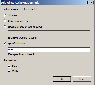 Allow FTP Authorization Rule