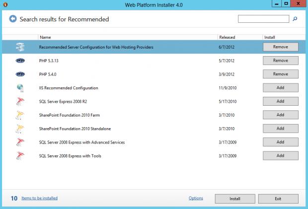 WebPI Installer