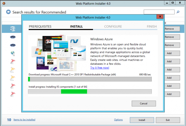 Install WebDeploy