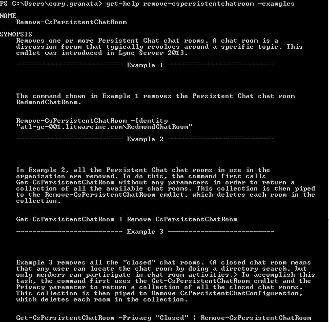 Syntax - Get Help