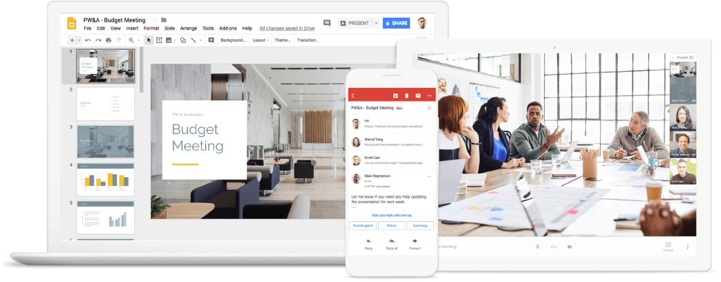 G Suite Screenshots