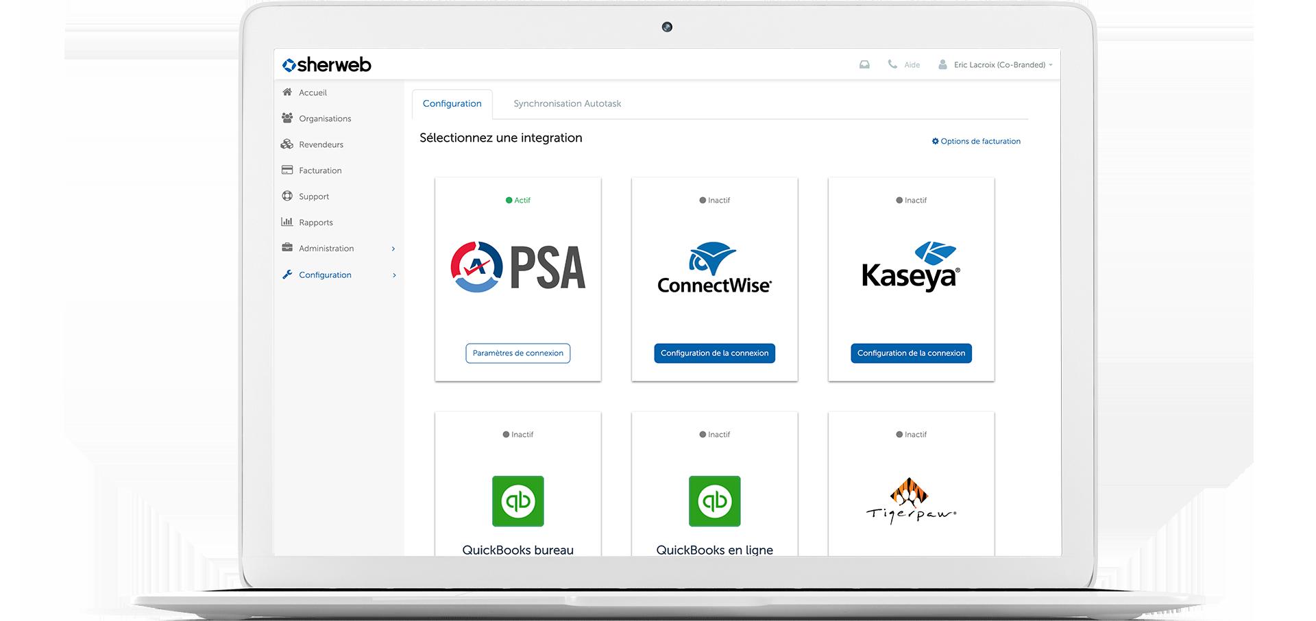Un portail des partenaires adapté à vos besoins