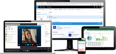 Office Apps Integration with CRM Online