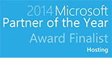 Microsoft Hosting Partner of the Year Finalist