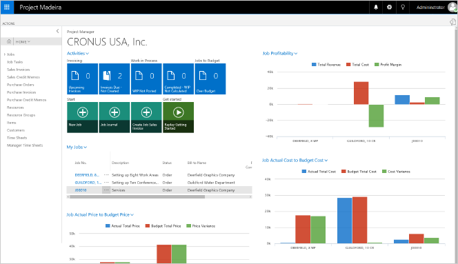 Microsoft Dynamics 365 for Financials