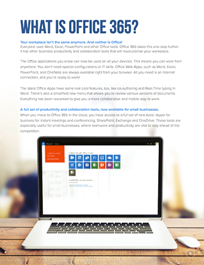 Empowering Small Business with Office 365