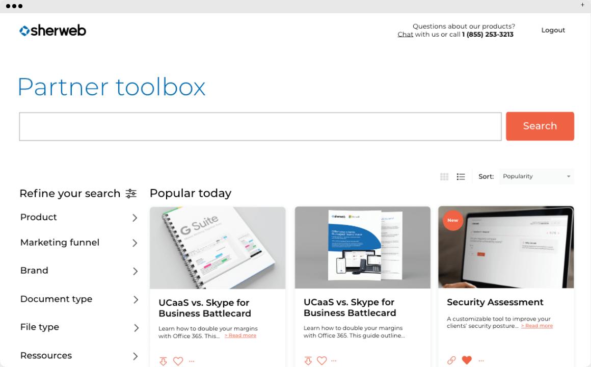 Partner toolbox